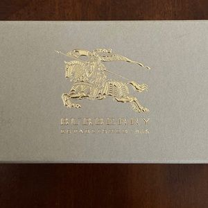 Burberry glasses box and case
